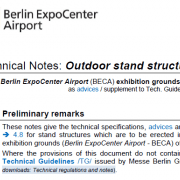 Technical Guidelines Static Display