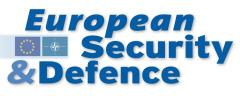 Logo European Security & Defence