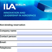 ILA 2020 - Reservation Form