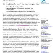 ILA Goes Digital: The world's first digital aerospace show
